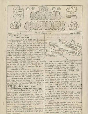 Civilian Conservation Corps Newsletters Collection, 1935-1941
