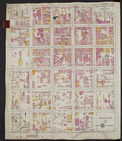Sanborn Fire Insurance Maps, Division of State History
