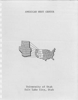 American West Center Research Projects
