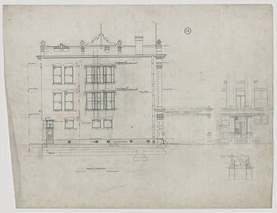 Richard Kletting Architectural Drawings