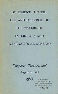 Western Waters Treaties and Compacts