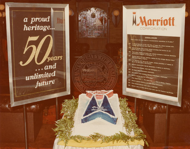 Excellent 50Th Birthday Cake For The Marriott Corporation At The St Louis Funny Birthday Cards Online Amentibdeldamsfinfo