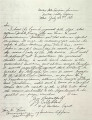 Critchlow to Commissioner of Indian Affairs. Dated July 23, 1881