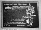 Alpine Pioneer Relic Hall