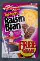 CEREAL BOX, KELLOGG'S RAISIN BRAN, JONNY MOSELEY
