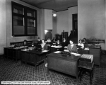Western Loan and Building Company Interior, Girls at Typewriters