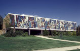 Dixie College Outdoor Mosaic Mural, Graff Arts Building; Dixie State College of Utah