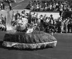 Parade royalty.