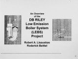 An Overview of the Low Emission Boiler System LEBS Project