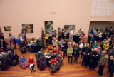 2012 Faculty Exhibition Opening at the Utah Museum of Fine Arts