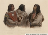 Chief of the Blood Indians.  War-Chief of the Piekann Indians.  Koutani Indian