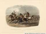 Horse Racing of the Sioux Indians, Near Fort Pierre