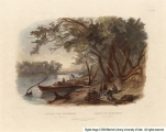 Encampment of the Travellers on the Missouri