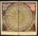 The planisphere of Copernicus, or Copernicus' hypothesis of the entire universe, in a planar view