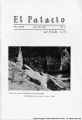 El Palacio, volume 31, no.4 (July 29, 1931) [01]: Cover