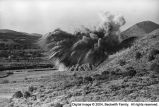 Dynamite blast at Leamington, Utah, 1983