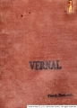 Vernal scrapbook cover