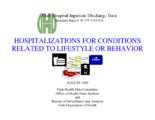Hospitalizations for Conditions Related to Lifestyle or Behavior