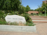 Entrance to City Creek Park