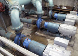Inside the 6200 South Pump Station