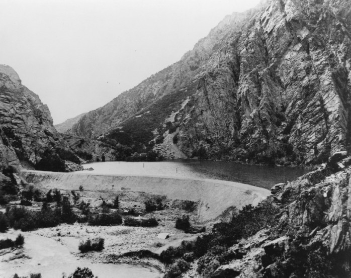 Big Cottonwood Canyon Reservoir p.1