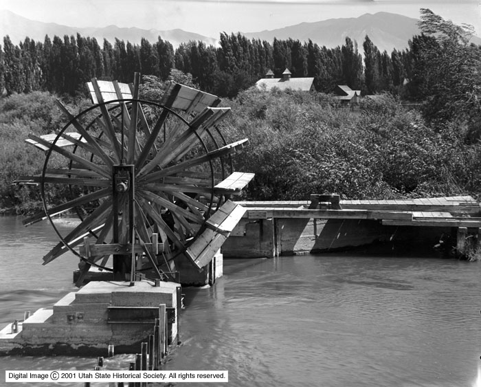 Water Wheel, Jordan River