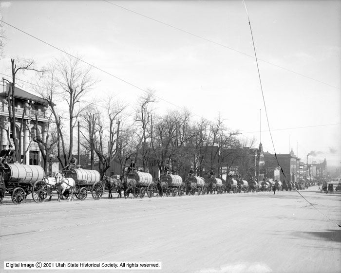 Water Wagons on State Street