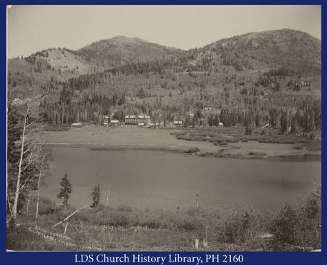 Brighton's Hotel, Silver Lake, Cottonwood Canyon