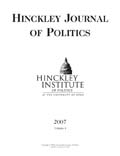 Hinckley Journal of Politics vol 8