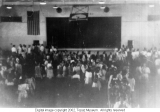 Senior farewell to the student body, 1945