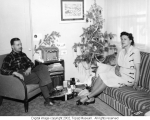 Christmas 1944 Staff housing