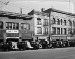 Buildings on State Street, Nov. 1936