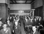 Meeting at Newhouse Hotel, Feb. 1938