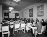 Meeting in Ivory Room, Newhouse Hotel, Apr. 1938