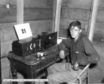 Ham Radio and Equipment Operator at Short Creek