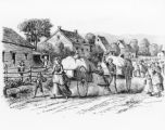 Mormon Trail--Hand Cart Train   P.5
