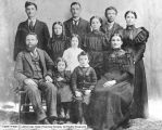 Family of John and Mary Ann Haight Parry