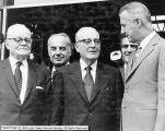 Spiro Agnew (Vice President ) with LDS Church Leaders