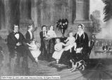 Brigham Young and Mary Ann Angell Young family