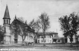 Presbyterian Church, Parsonage, and School p.1