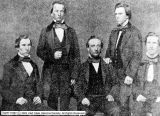 George Q. Cannon and the staff of the Western Standard