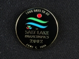 "PIN, SALT LAKE PARYLYMPICS ""1000 TO GO"""
