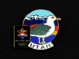 PIN, 2002 SALT LAKE WINTER GAMES SEAGULL