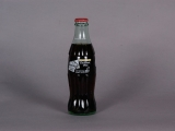 COCA-COLA, TORCH RELAY, 8 OUNCE GLASS BOTTLE