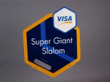 SIGN, VISA SUPER GIANT SLALOM
