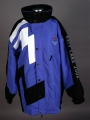COAT, BLUE OLYMPIC VOLUNTEER (front)