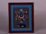 PIN SET, AMERICAN ATHLETES AND EVENTS (FRAMED)