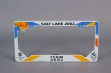 LICENSE PLATE FRAME, 2002 WINTER GAMES