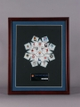 PIN SET, SNOWFLAKE (FRAMED)