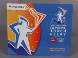 PIN SET, OLYMPIC TORCH RELAY PIN FOLDER